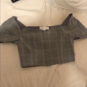 Plaid shirt new